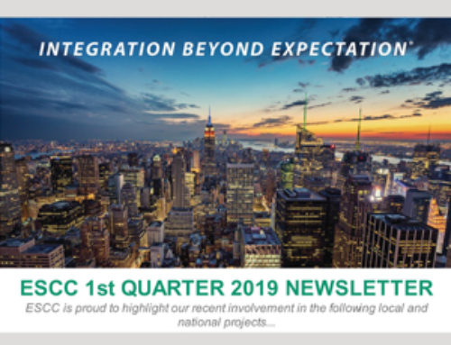ESCC is Proud to Announce our 1st Quarter 2019 Newsletter!