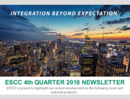 ESCC is Proud to Announce our 4th Quarter 2018 Newsletter!
