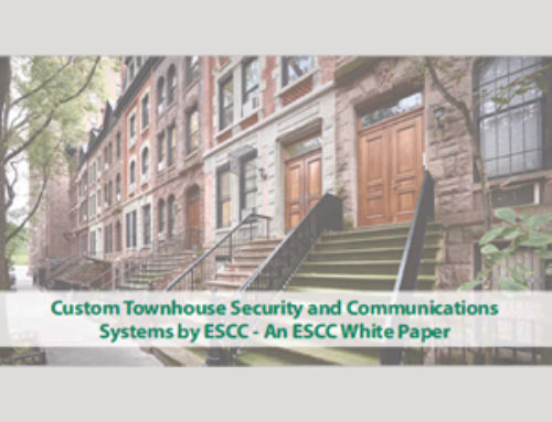 ESCC Provides Security and Communications Solutions to NYC Area Townhomes – 2018