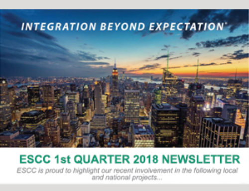 ESCC is Proud to Announce our 1st Quarter 2018 Newsletter!